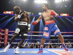 Manny Pacquiao lost to Timothy Bradley in their welterweight title fight June 9.