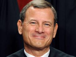 Chief Justice John Roberts cast the swing vote in a 5-4 decision to uphold President Obama's health care law.