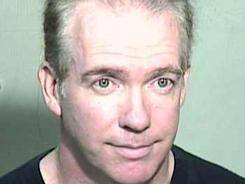 Michael Marin, shown in this undated photo provided by the Maricopa County (Ariz.) Sheriff's Office, is suspected of fatally poisoning himself as he was pronounced guilty of arson.