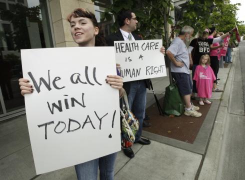POLL: AMERICANS SPLIT ON HEALTH CARE DECISION | Lancaster Eagle ...
