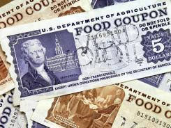 Older, traditional food stamps.