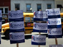 Romney volunteers will canvass in swing states on Saturday.