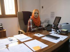 Mervat Mhani is working to locate the thousands of people currently missing in Libya.