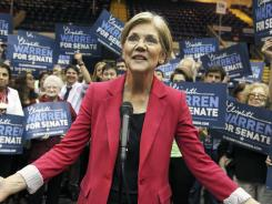 Democratic Senate candidate Elizabeth Warren raised more than $8.6 million in the second quarter of 2012.