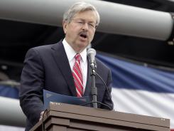 Iowa Gov. Terry Branstad reversed an executive order that automatically restored ex-felons' voting rights.