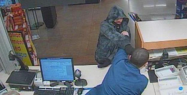 In many cases, robbers are asking specifically for Opana when they enter pharmacy stores. This attempted robbery occurred on Feb. 27 at a Kroger Pharmacy in Fort Wayne, Ind.<br>Fort Wayne Police Department