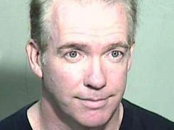 This photo provided by the Maricopa County Sheriff's Office shows 53-year-old Michael Marin. The former Wall Street trader and attorney was found guilty of arson in a Phoenix courtroom on June 28, 2012.