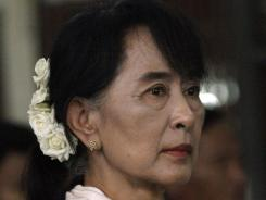 Aung San Suu Kyi advised against investment by foreign companies with the Myanma Oil and Gas Enterprise.