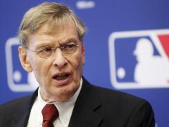 Major League Baseball Commissioner Bud Selig