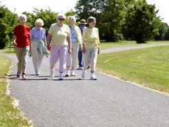 Studies show that changes in the way a person walks can be an early warning sign of cognitive decline.