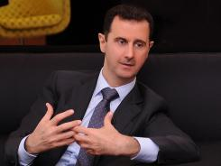 Syrian President Bashar Assad's regime has been accused of using heavy weapons in Tremseh.