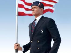 Uniform: Swimmer Ryan Lochte