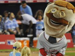 Mascot race: In the hundreds of races the Washington Nationals have staged since 2006, Teddy Roosevelt has never won. There's now a Facebook campaign about it.