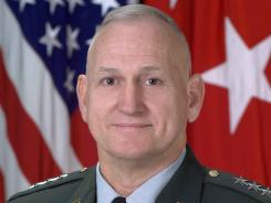 This 2003 image provided by the U.S. Army shows retired Lieutenant General William G. Boykin.