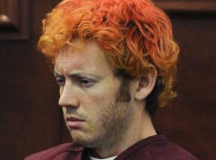 James E. Holmes appears in Arapahoe County District Court, in Centennial, Colo. Holmes is being held on suspicion of first-degree murder stemming from a mass shooting last Friday in a movie theater in Aurora, Colo., that killed 12 and injured dozens of others.