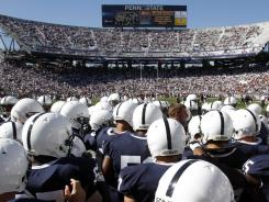 Penn State football game in 2010.