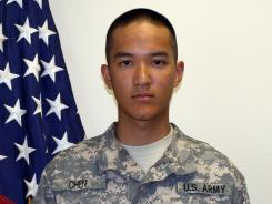 Pvt. Danny Chen,19, killed himself in Afghanistan. The first of eight court-martial trials began for U.S. soldiers accused of hazing Chen.