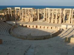 Roman ruins in Libya are said to be among the best in North Africa.