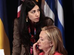 Abedin: Aide to Secretary of State Hillary Clinton.