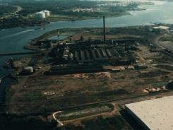 The U.S. Metals Refining Co. in Carteret, N.J.