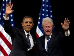 Former president Bill Clinton will formally place President Obama's name in nomination at the Democratic National Convention in September.