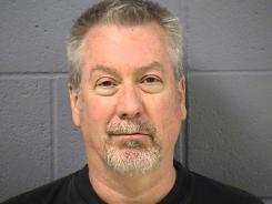 Former police sergeant Drew Peterson is shown in this May 7, 2009 booking photo.