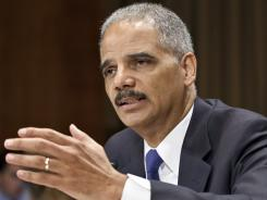 Attorney General Eric Holder testifies on Capitol Hill in June regarding Operation Fast and Furious.