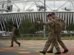 Olympic Stadium: The British government assigned 3,500 troops to assist in security for the London Games and putting 1,200 on standby. The London Summer Olympics are estimated to cost $15 billlion.