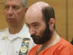 Levi Aron is arraigned in Brooklyn criminal court in New York on August 4.