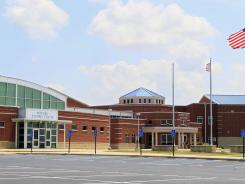 Monroe High School is shown in Monroe, Ohio. The state, along with Michigan and Minnesota, has suffered the majority of school losses in the Midwest due to drops in population.