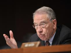 Charles Grassley, R-Iowa, is one of the senators who is concerned about fake IDs.