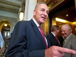 Sen. Charles Schumer, D-N.Y., posted his 2011 tax return online on July 26.