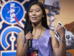 Clara Ma, 15, is the mother of Curiosity.