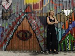 Nyssa Frank, 27, owns one of Brooklyn's trendy art studios.