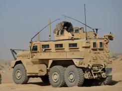 The Pentagon has spent $45 billion on MRAPs since 2007.