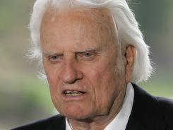 Billy Graham is recovering from a lung infection.