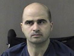 Nidal Hasan, the Army psychiatrist charged in a deadly shooting rampage at Fort Hood, Texas.