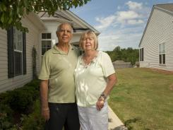 """Ralph and Dorothy """"Dottie"""" Serran moved from Long Island, N.Y., to a retirement community in Fort Mill, S.C., to be near family. They were happy to find a lower cost of living and lower taxes."""