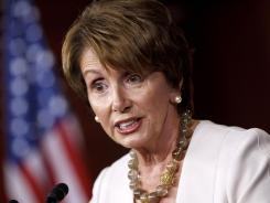 House Minority Leader Nancy Pelosi, D-Calif., says Mitt Romney's selection of Wisconsin Rep. Paul Ryan as his running mate raises questions about Romney's judgment.