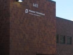 This photo from June 2011 shows a Planned Parenthood clinic in Overland Park, Kan.