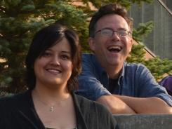 Melissa Mitchell, left, and USA TODAY Nashville correspondent Brian Mansfield have Lynch syndrome, which increases the risk of colon and other cancers.