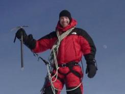 Michael Marin, shown on Alaska's Mt. McKinley, was on top of the world in May 2009. Two and a half months later, he was in jail in Phoenix.
