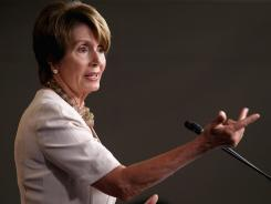 House Minority Leader Nancy Pelosi, D-Calif., is seeking to become the first lawmaker since Sam Rayburn to reclaim the speaker's gavel after a defeat.
