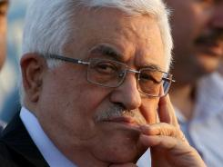 President of the Palestinian National Authority Mahmoud Abbas attends the opening of a new hospital in the West Bank in July.