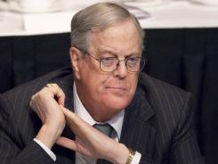 David Koch serves as executive vice president of Koch Industries.