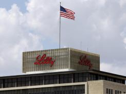 Eli Lilly and Co. reported on Friday positive results from a trial of an Alzheimer's drug treatment.