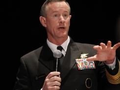 Adm. William McRaven, the military's special operations chief, warned he will take legal action against anyone under his command if they're found to have exposed sensitive information.