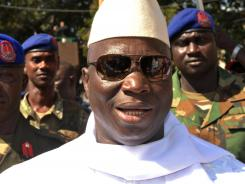 Gambian president Yahya Jammeh vowed to carry out all death sentences by mid-September.