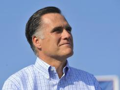 "In an interview with USA TODAY, Mitt Romney says the 2012 election ""is a campaign about big ideas and a very dramatic choice that America is about to make."""