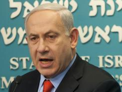 Netanyahu: Has warned that time is 'running out' to resolve issues with Iran peacefully.